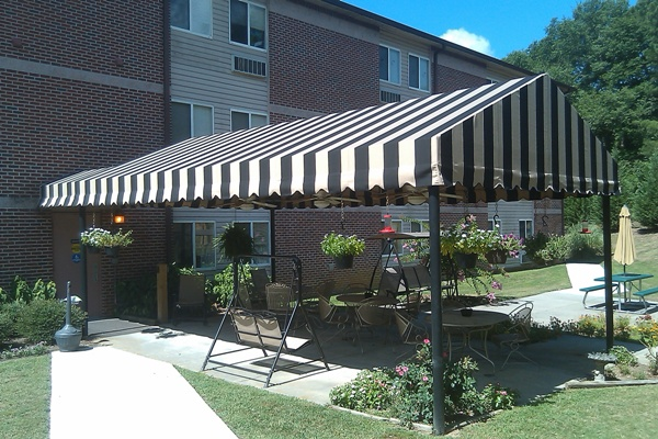 Delightful Patio Covers. Canvas Canopy