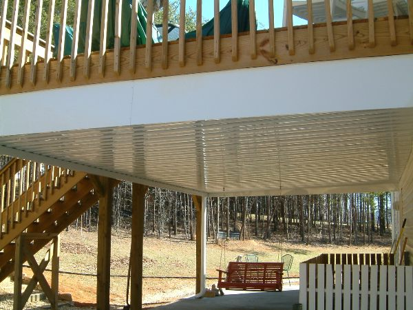 Under Deck Canopies Lanier Aluminum Products