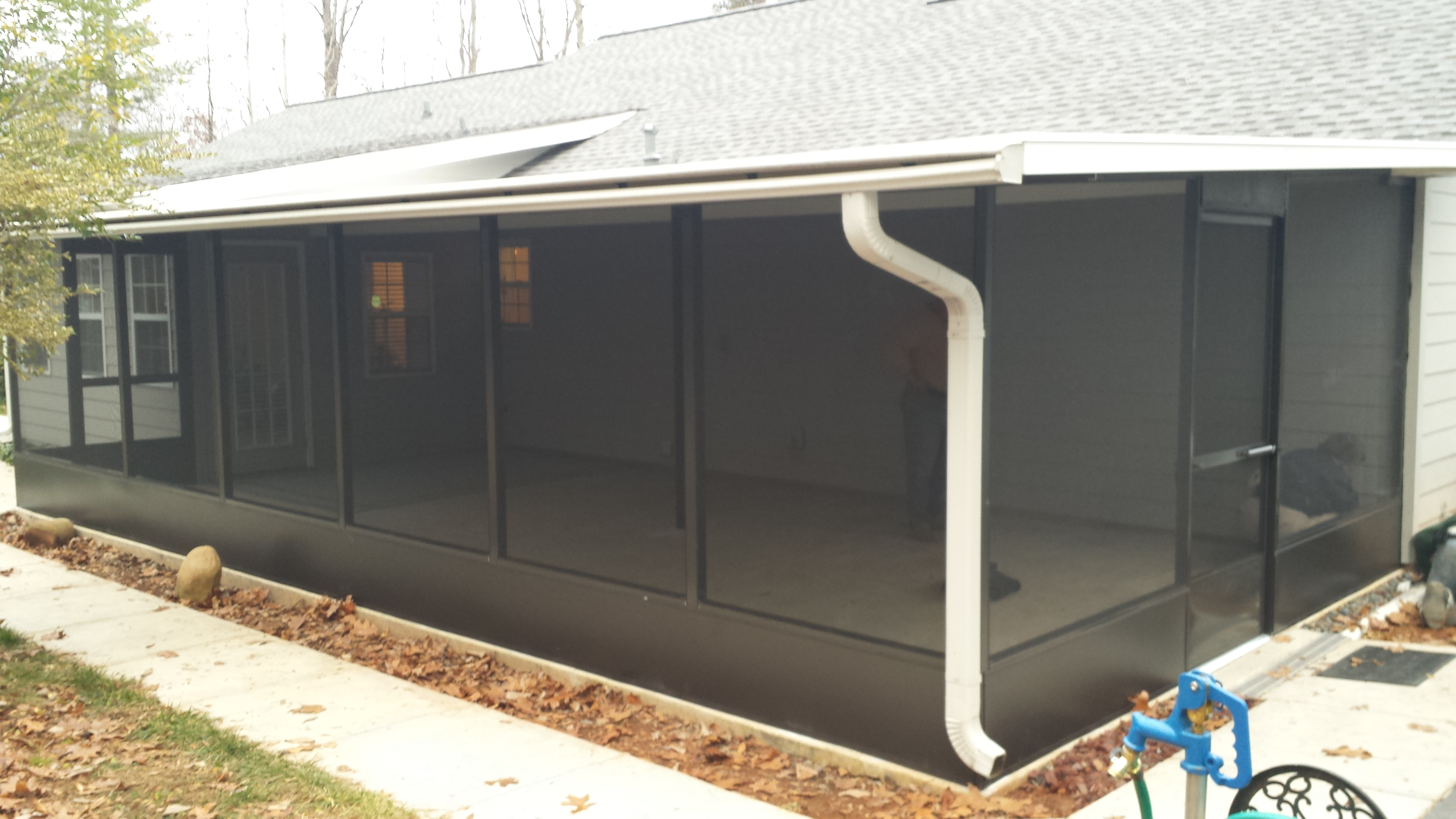 Screen Rooms | Lanier Aluminum Products