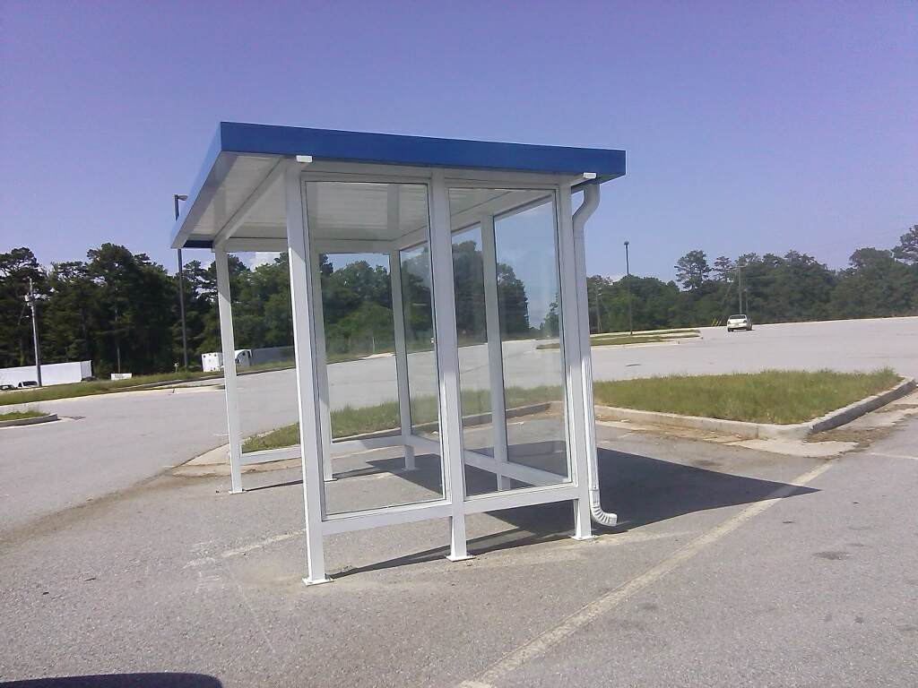 Break Areas Amp Bus Stops Lanier Aluminum Products